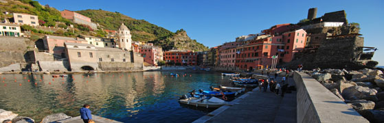 Panoramas interactifs de Vernazza